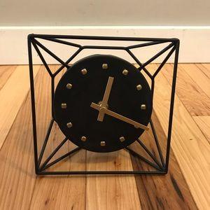 Project 62 Metal black clock
